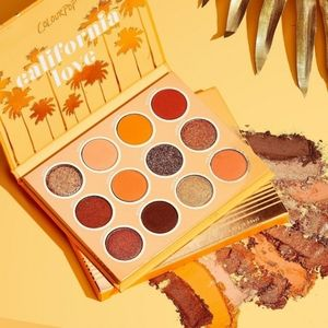 Colourpop California Love Eyeshadow Palette Makeup Neutral Gold